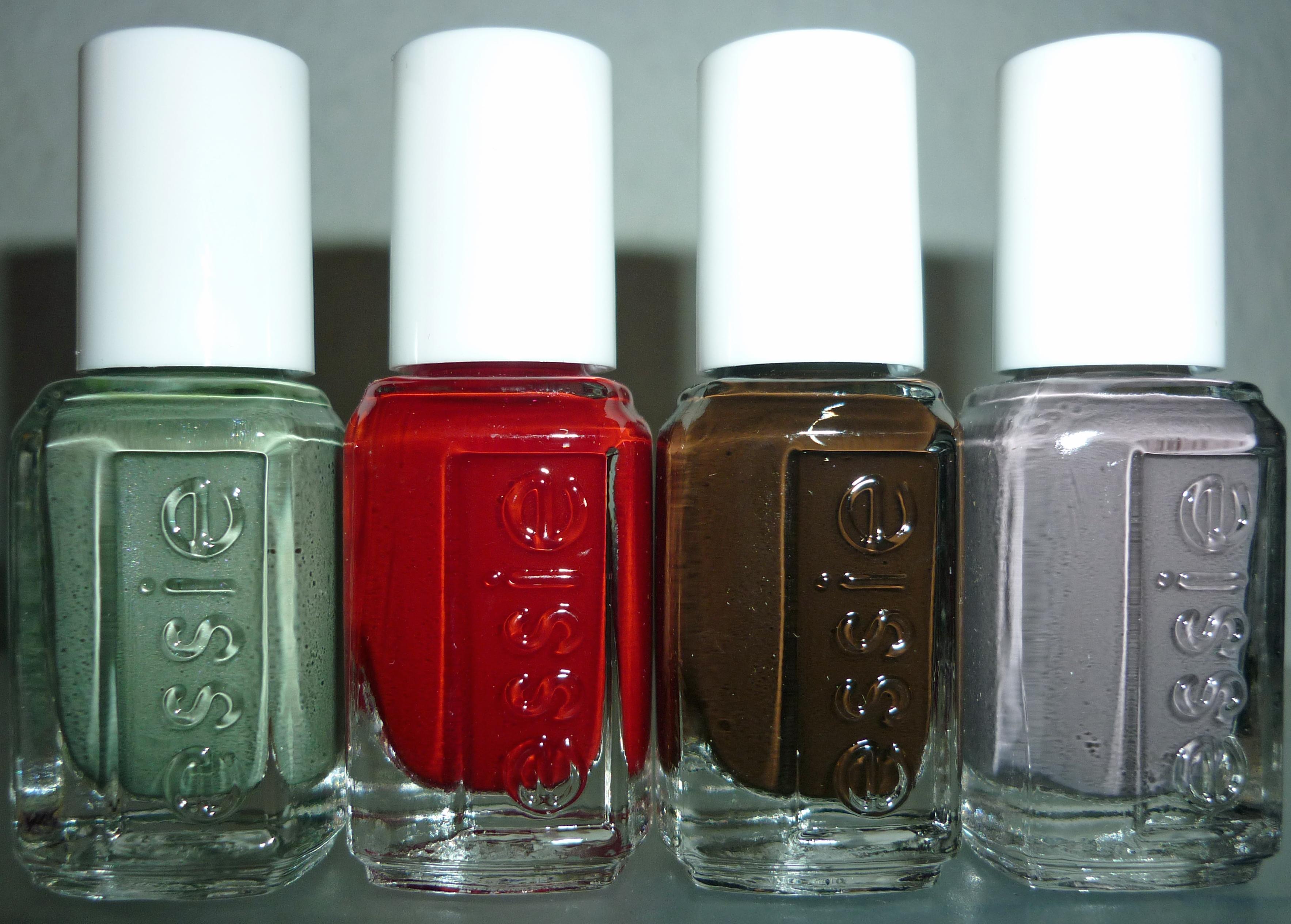 Essie Nagellack Fall Collection-Würfel | Beautyjagd