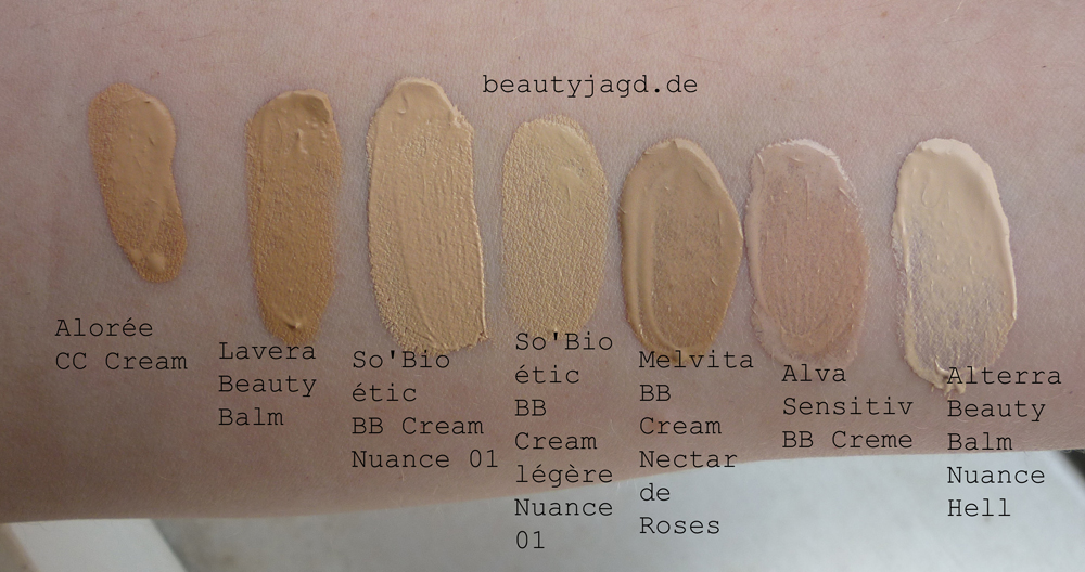 melvita bb cream nectar de roses vergleich mit swatches beautyjagd. Black Bedroom Furniture Sets. Home Design Ideas
