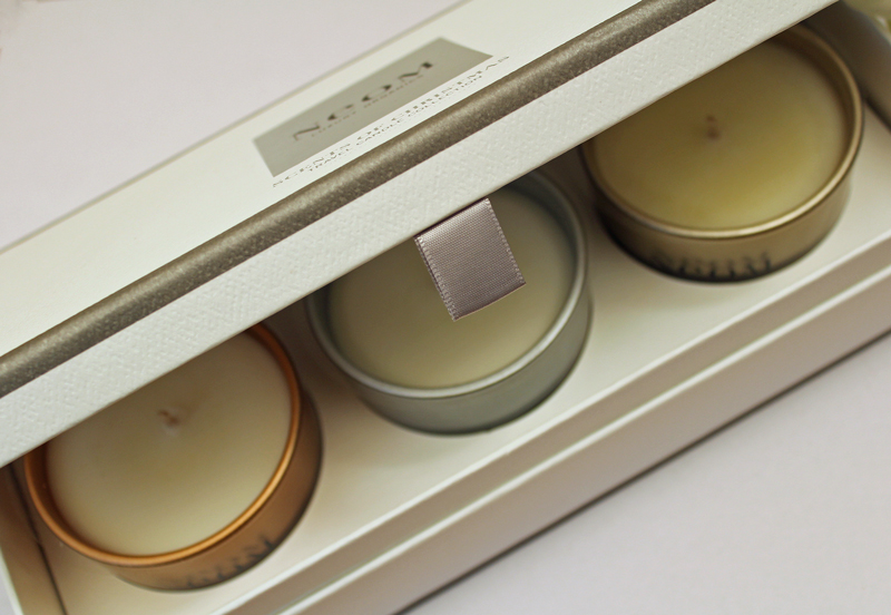 neom scents of christmas candle collection