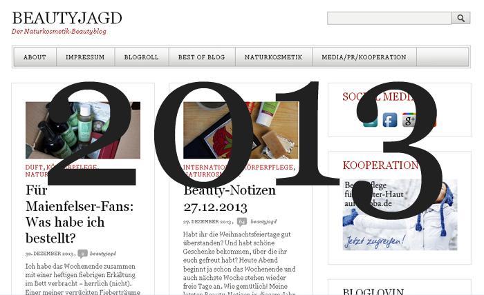Beautyjagd Jahresrueckblick 2013