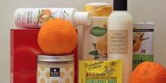 Naturkosmetik mit Vanille und Orange