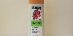Alverde Koerpermilch Kakao Hibiskus