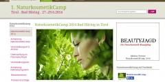 Naturkosmetik-Camp