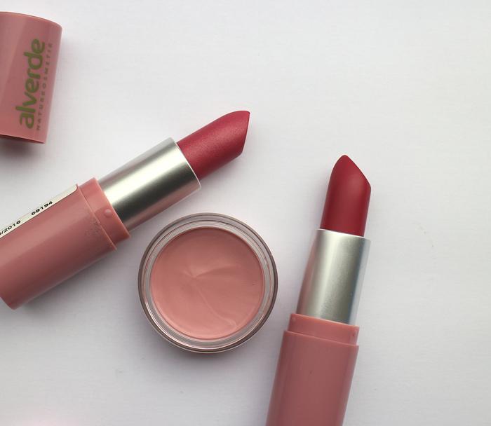alverde lippenstift rouge vintage rose