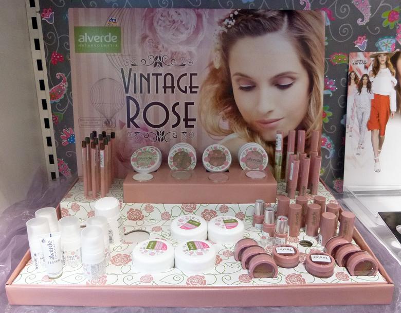 alverde vintage rose limited edition