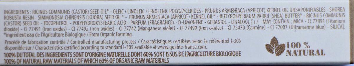 inhaltsstoffe lipgloss couleur caramel