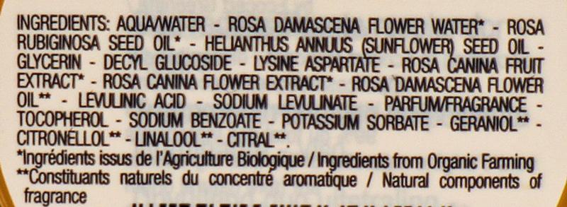 inhaltsstoffe pulpe de rose