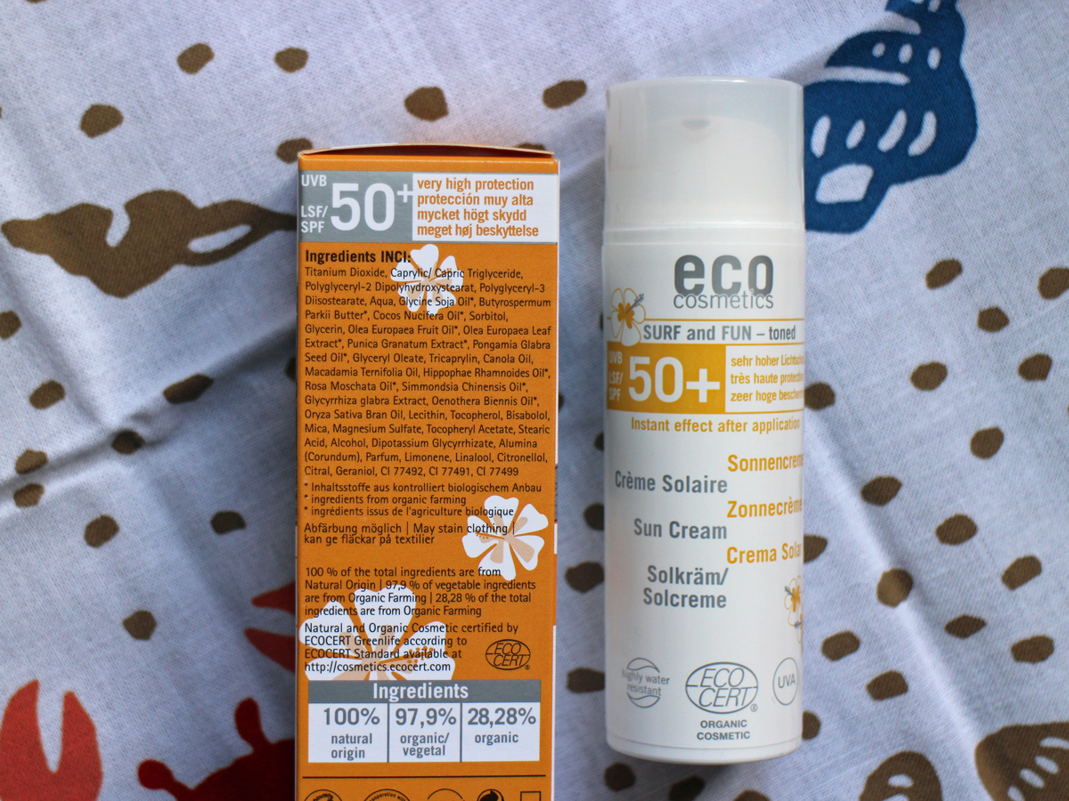 Eco Cosmetics surf fun