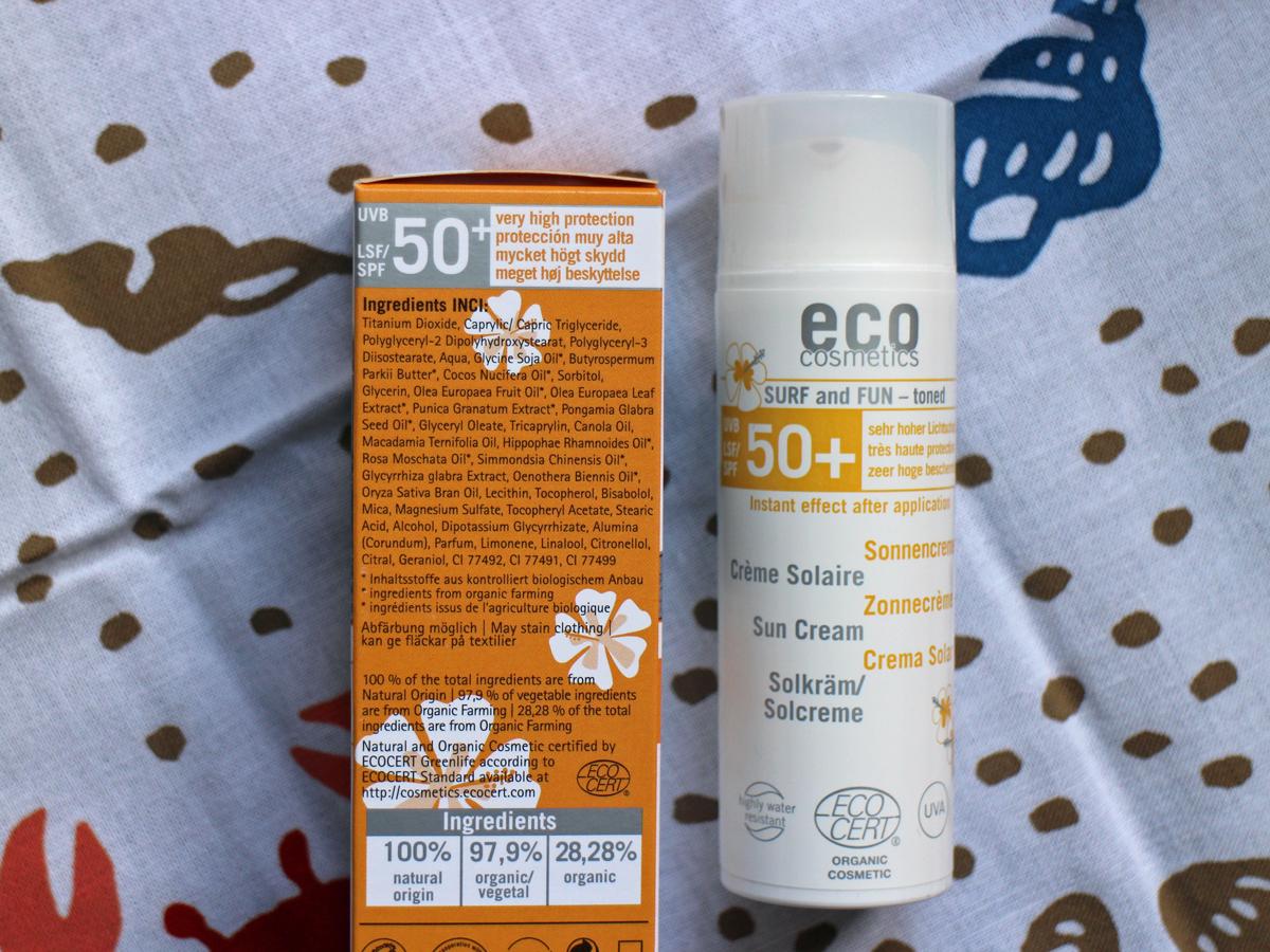 Eco Cosmetics surf fun