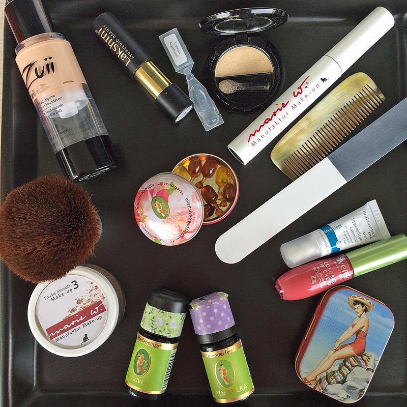 Makeup Tasche Winterweiss