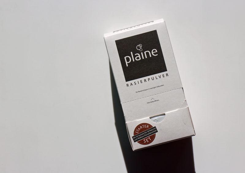 Plaine Rasierpulver Starter Kit
