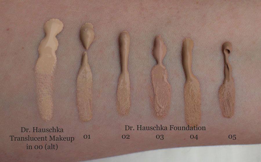 Dr. Hauschka Foundation Swatch