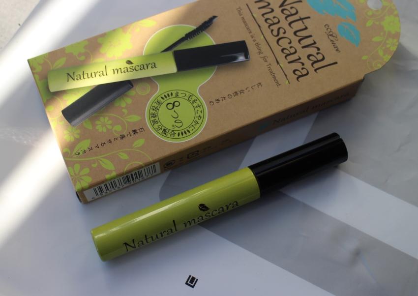 natural mascara eco line tokyo haul 1