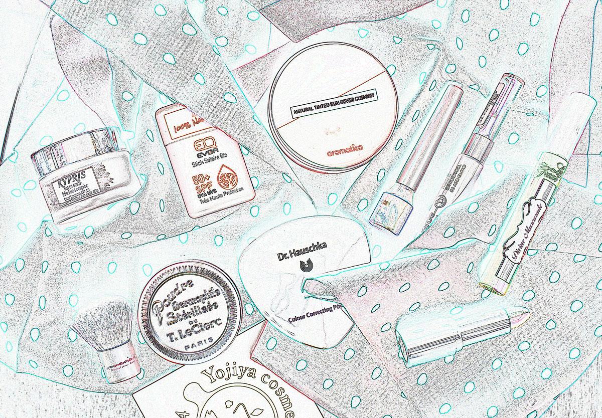 Makeup für tropische Temperaturen Naturkosmetik