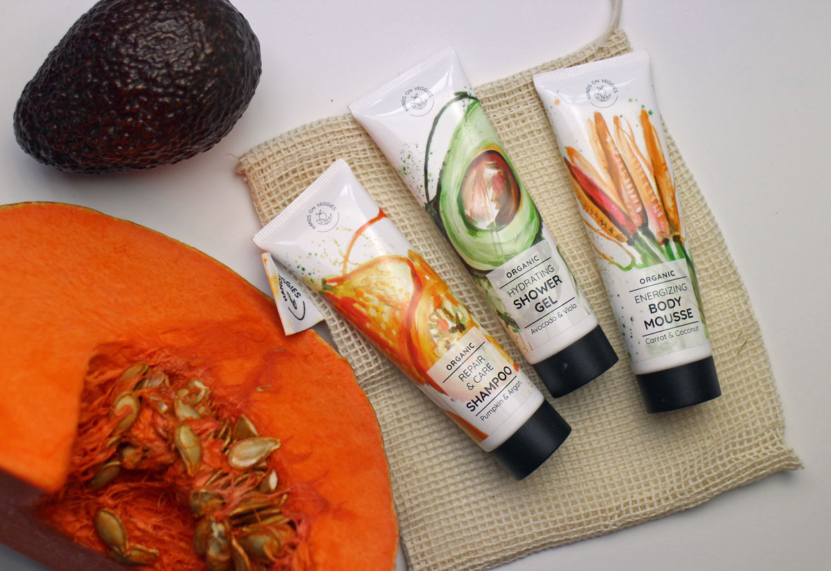 Hands on Veggies Travel Set