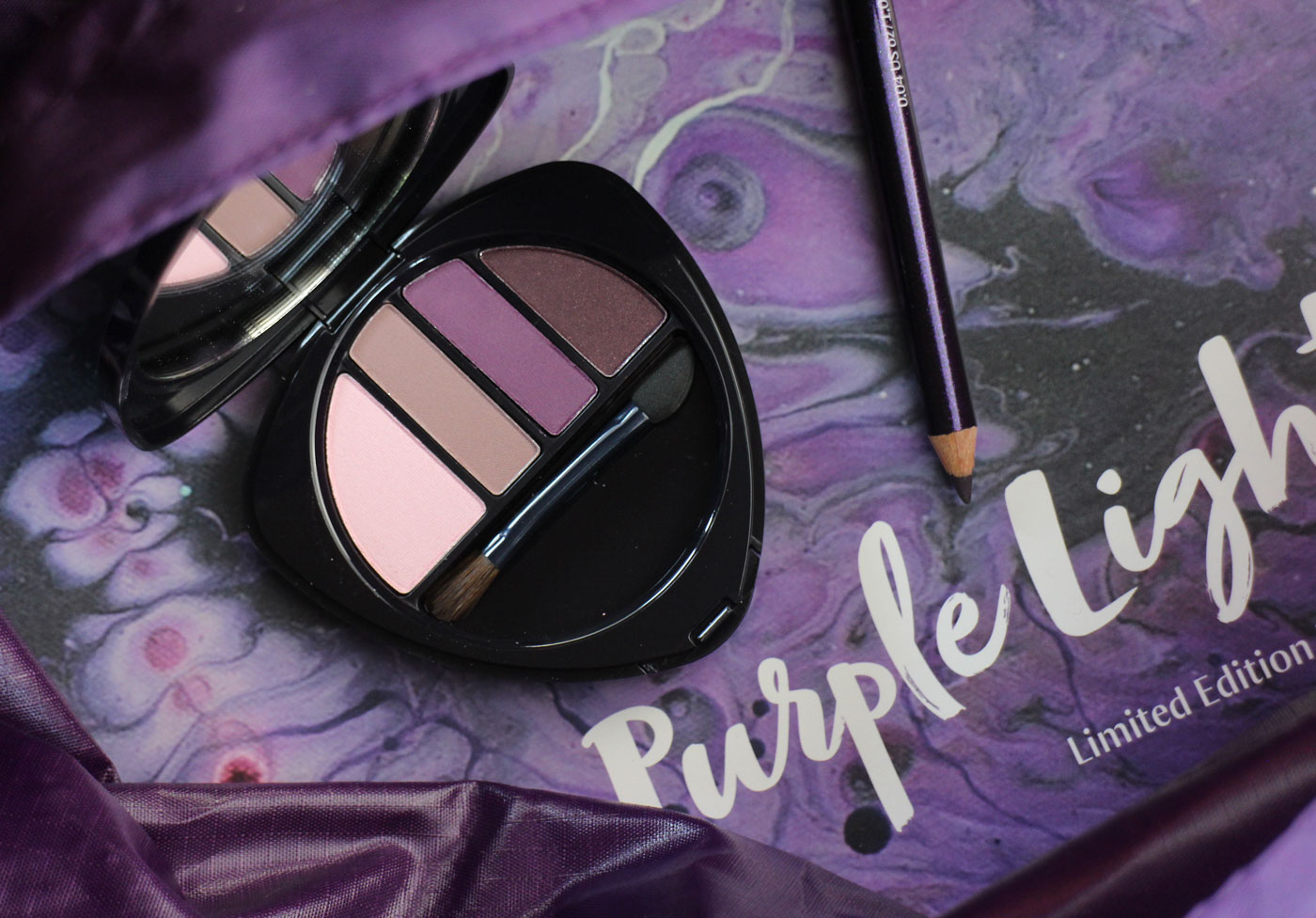 Purple Light Dr. Hauschka Eyeshadow Palette