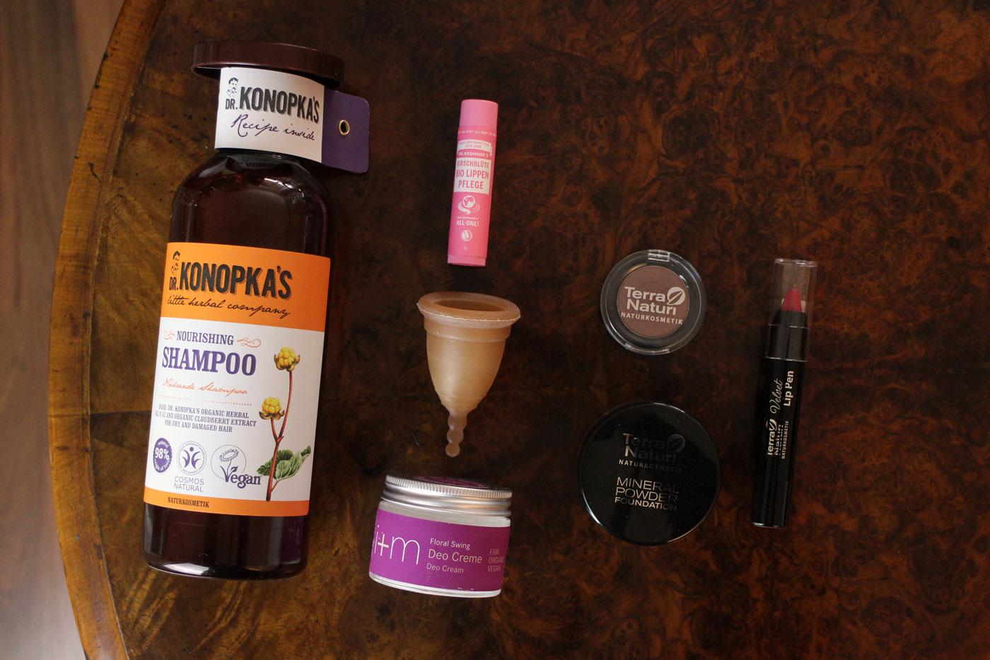 Naturkosmetik aus dem Drogeriemarkt