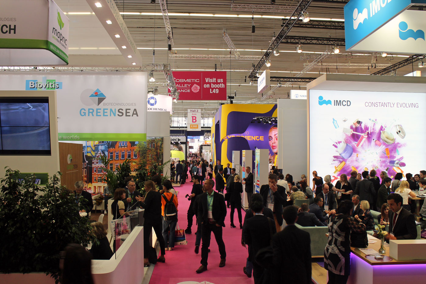 In-Cosmetics 2018 Amsterdam