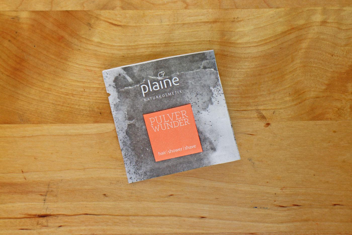 Sachet Plaine Pulverwunder