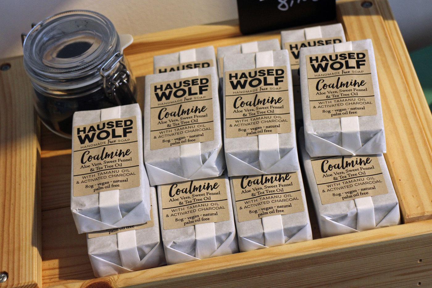 Haused Wolf Handgemachte Seifen