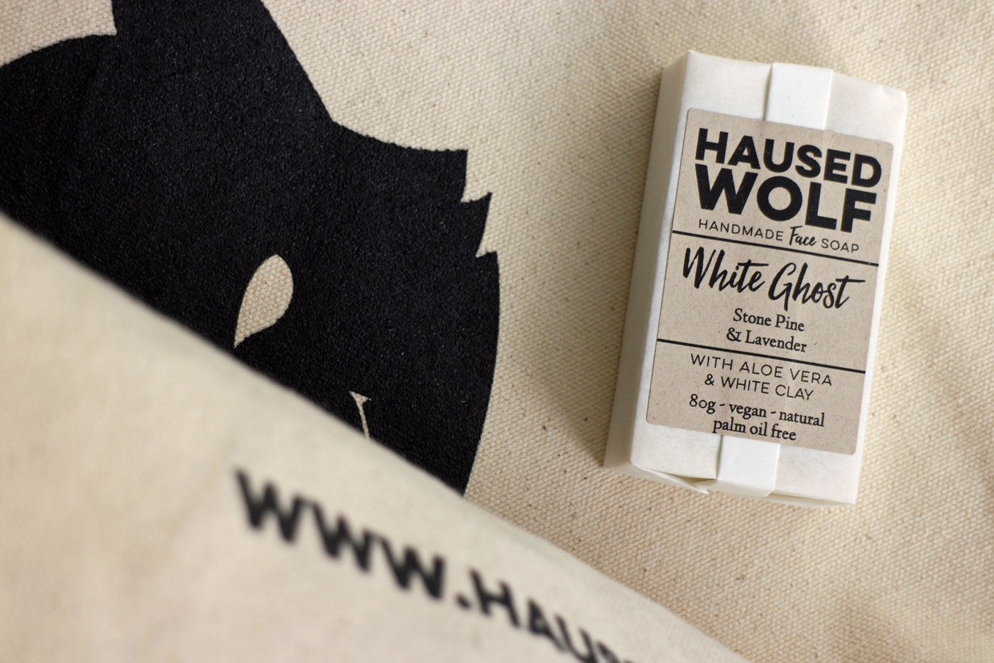 Haused Wolf Gesichtsseife