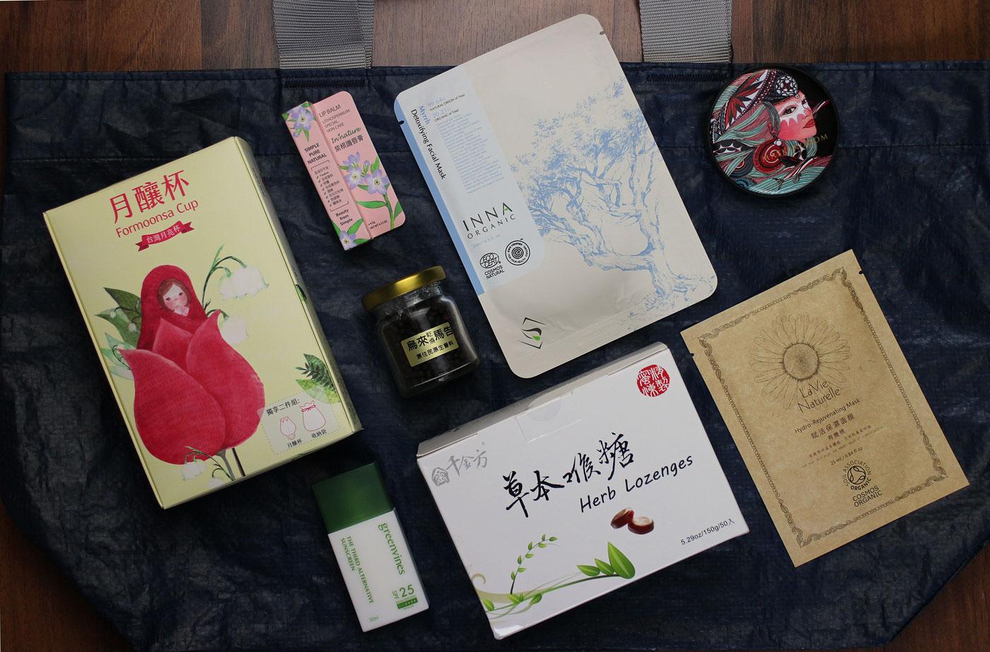Naturkosmetik aus Taiwan