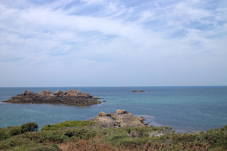 Bretagne Meer und Natur
