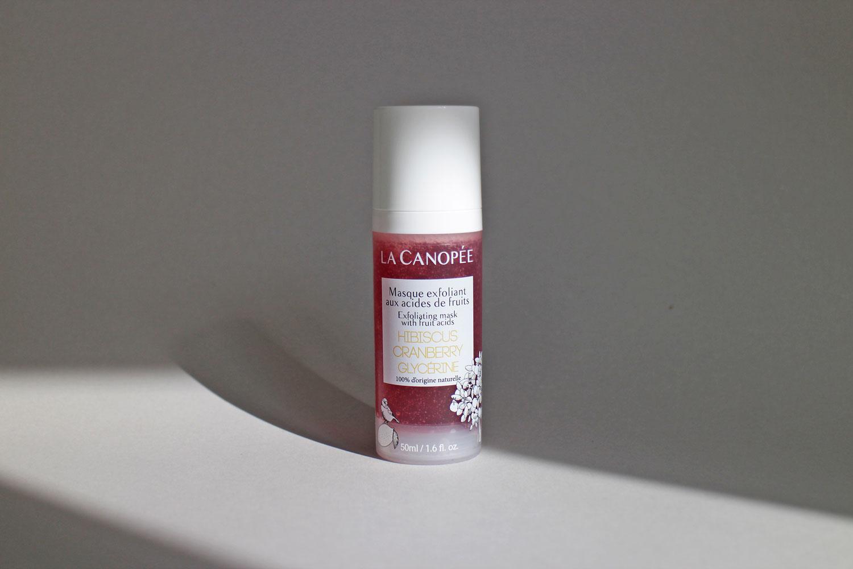 La Canopée Masque Exfoliant Hibiscus Cranberry