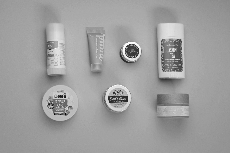 Natürliche Deodorants Naturkosmetik