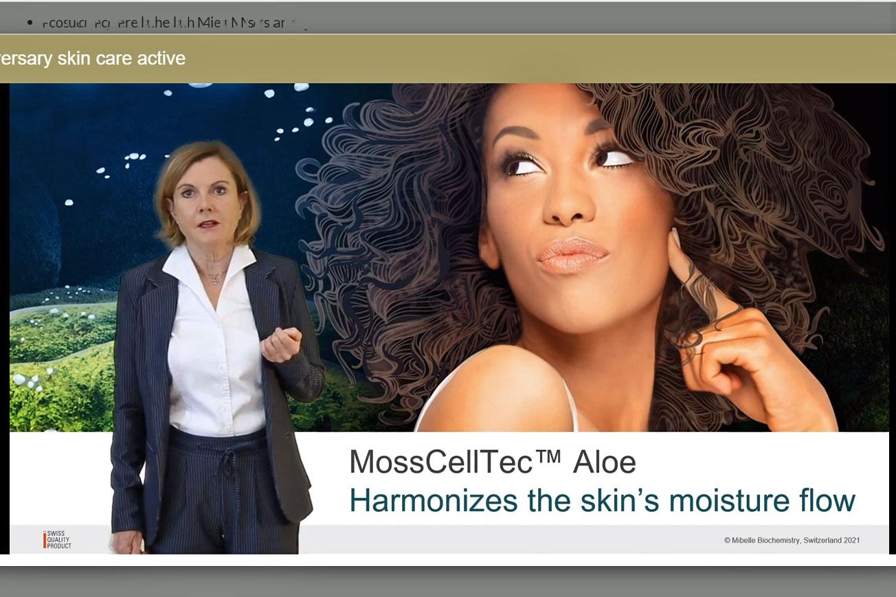 Mibelle Biochemistry MossCellTec Aloe