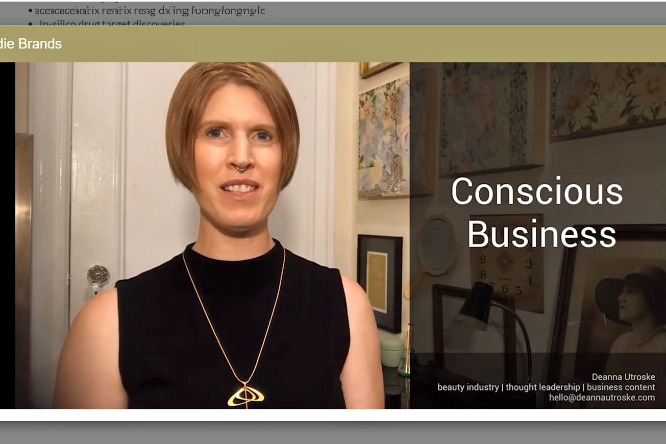 Mibelle Biochemistry Conscious Business